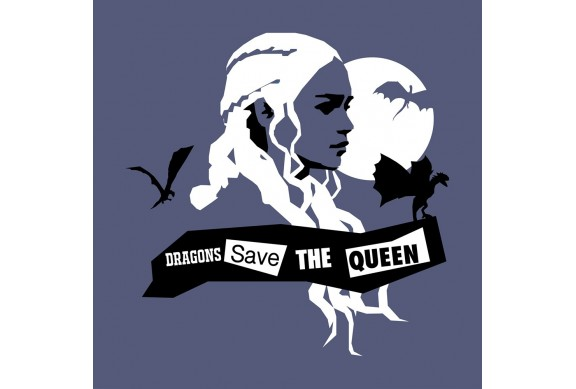 DRAGONS SAVE THE QUEEN